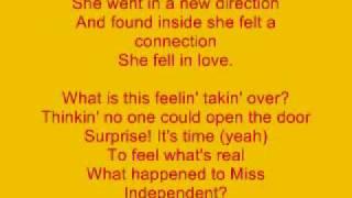 Video Miss Independent Lyrics By Kelly Clarkson MP3, 3GP, MP4, WEBM, AVI, FLV Desember 2018