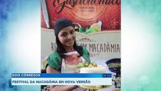 Festival de Macadâmia de Dois Córregos tem mudanças devido à pandemia