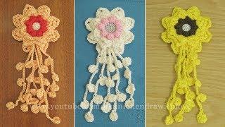 Crochet ||  Cara Merajut Bunga - Flower Crochet || 004
