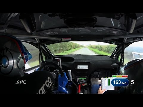 Circuit of Ireland Rally 2015 - Breen OBC SS10