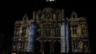 Tourcoing France  city photo : 3D Projection Mapping sur la marie de tourcoing france