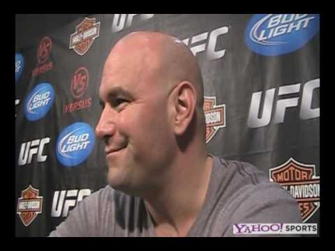 Dana White I was never putting an April 17th show on I just fing let it ride out let them sweat