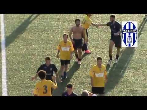 Preview video <strong>GINOSA-TUTURANO 5-0 Un grande Ginosa asfalta il Tuturano</strong>
