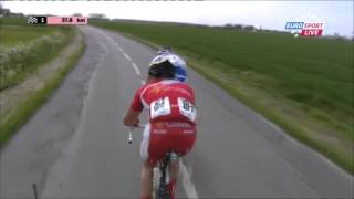 Video Cycling  4 Jours de Dunkerque (Four Days Of Dunkirk) 07.05.2014 Stage 1 last 40km MP3, 3GP, MP4, WEBM, AVI, FLV Mei 2017