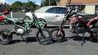 6. SSR PIT BIKES SR 125cc DIRT BIKE and SSR SR125TR 125cc PIT BIKES COMPARISON by HIGH STYLE