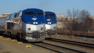 Alexandria (VA) United States  City new picture : USA Trains: Amtrak & VRE trains, Alexandria, VA., 21Feb13