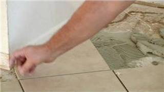 How to lay tile properly