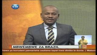Mwanahabari Hassan Juma Akita Kambi Nchini Brazil
