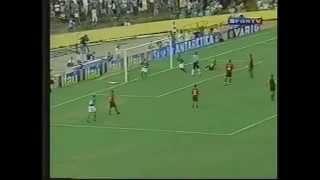 Brasileirão 2003 - Goiás 1 x 1 Flamengo - Estádio: Serra Dourada - Gol do Verdão: Dimba - Público: 46.461 - Imagens: Globo ...