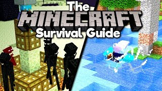 Easy Ender Pearls & Riptide Trident! • The Minecraft Survival Guide (Tutorial Lets Play) [Part 118]