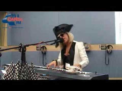 acoustic - Lady Gaga performing a piano version of Paparazzi on Capital FM. Lyrics: We are the crowd, We're c-coming out Got my flash on, it's true Need that picture of...