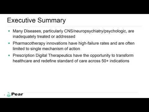 Behavioral Health Prescription Digital Therapeutics Webinar