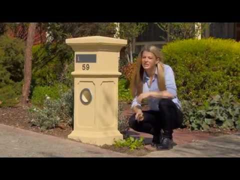Northcote Pottery Elite Letterboxes on the Garden Gurus