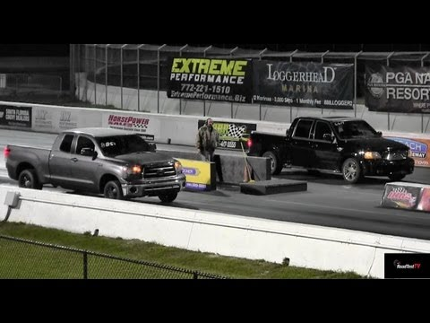 Supercharged Tundra vs. Supercharged Harley Edition F150