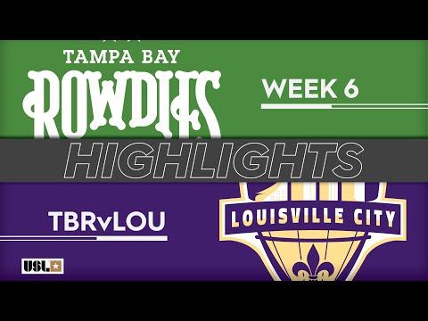 Tampa Bay - Луисвилл Сити 1:1. Видеообзор матча 14.04.2019. Видео голов и опасных моментов игры