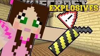 Minecraft: OVERPOWERED EXPLOSIVES & WEAPONS!! (ROCKET LAUNCHERS, DYNAMITE, & MORE!) Mod Showcase