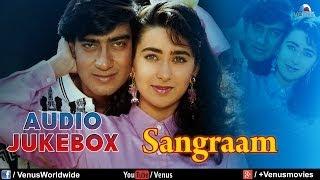 Download Lagu Sangraam - Full Song | Ajay Devgan, Karishma Kapoor, Ayesha Jhulka | JUKEBOX | 90's Superhit Songs Mp3