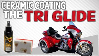 9. How To Ceramic Coat a Harley-Davidson Tri Glide For a Mirror Finish and Paint Protection