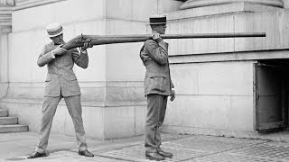 25 Extraordinary Rare Photos You Didn't See In History Textbooks - Part 1 ...Compilation of Powerful, Stunning, Strange Photographs From History…List of Photos Below-Filming of the MGM opening credits (1928)A Punt Gun, used for duck hunting, banned because they depleted stocks of wild fowl, 1910-1920Priest praying over Titanic victims before they are buried at seaHitler and Speer mesmerized by the Schwerer Gustav, one of the largest artillery pieces ever used in Combat (1941)The only known photo of a living Quagga at the London Zoo (1870)A market in early 1900's New York CitySikh soldier of the British Army fits gas mask to mule (circa 1939 – 1945)Post D-Day, Omaha Beach 1944Louis Armstrong playing trumpet for his wife at the Giza pyramids in 1961American soldier assisting a woman out of a cave during the battle of SaipanPyramids Giza, EgyptConstruction of Eiffel Tower, 1887One of the world's first underwater photographs, taken in 1893Boy watching TV in store  window in 1948Queenie, the first elephant to water surf (circa 1950)A lineman giving CPR to a co-worker after he accidentally touched a high voltage wire (1967)Kids licking ice, NYC heat wave, 1911To promote liberty bonds, Douglas Fairbanks Jr. holds up Charlie Chaplin at Wall Street, 1918The Test pilot George Aird narrowly escapes death by ejecting sideways from a prototype jet that nosedived, 1962The unbroken seal of the tomb of Tutankhamun, untouched for over 3000 years (1922)During the Oil Crisis, the roads were so deserted that people could have picnics on highways (1973)Back when computers didn't have screensIn 1956, a Pan Am plane was needed to transport a 5 MB hard driveWell-dressed beggar running alongside King George V's coach (1920)The very first individual to be captured on film. Bet Hannah Stiley wishes she smiled a little.Music: Here Today Gone Tomorrow by Dhruva Alimanhttps://dhruvaaliman.bandcamp.com/album/hard-to-get-alonghttp://dhruvaaliman.com/