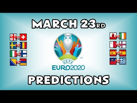 EURO 2020 QUALIFYING MATCHDAY 1 - PART 3 - PREDICTIONS