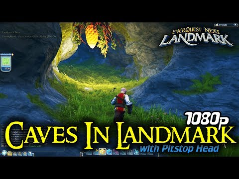Caves in Landmark | Everquest Next Gameplay