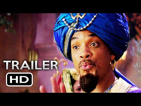 ALADDIN Official Trailer 3 (2019) Will Smith Disney Live-Action Movie HD