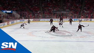 Hurricanes' Aho, Teravainen Combine For Beauty Short-Handed Goal by Sportsnet Canada