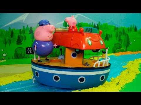Смотреть мультик свинка пеппи все серии в подряд