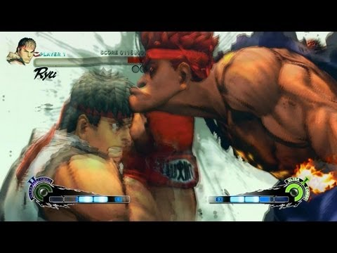 Super Street Fighter 4 - A walkthrough of the PC version of Super Street Fighter IV Arcade Edition HD with Ryu and Metsu Shoryuken as his Ultra II 2 combo + Secret Evil Ryu boss figh...