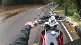 7. 2005 honda shadow vt1100 walk around review