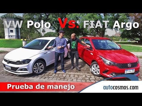Test comparativo FIAT Argo Vs. VW Cronos