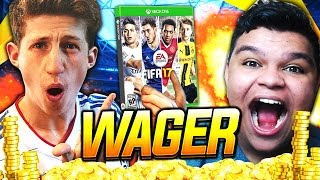 WTFF FIFA 17 ON THE LINE!! - FIFA 17 WAGER VS THEREALSMA
