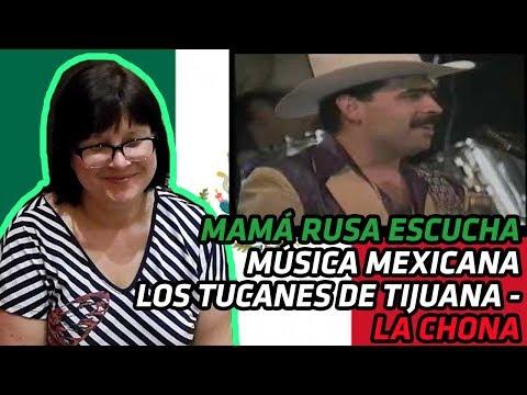 RUSSIANS REACT TO MEXICAN MUSIC   Los Tucanes de Tijuana - La Chona   REACTION