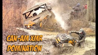 4. Can-Am XMR Mud Domination - Muddy Friday Action Cut - Outlander + Maverick XMR