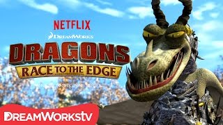 Video A New Dragon Revealed: The Armor Wing | DRAGONS: RACE TO THE EDGE MP3, 3GP, MP4, WEBM, AVI, FLV Juli 2018