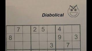 Video Solve Diabolical Sudoku Puzzles - Very Hard MP3, 3GP, MP4, WEBM, AVI, FLV Juni 2019