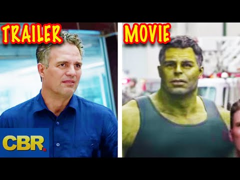 20 Deleted Or Edited Scenes From The Avengers Endgame Trailers