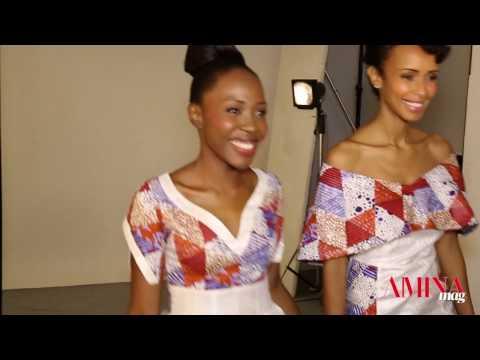 Vidéo - Making-of du shooting avec Sonia Rolland et Miss Mixa Afrique