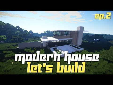 Minecraft PC: Let's Build a Modern House! Ep.2 (TU14 Preview)