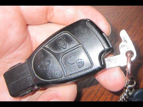 Чип ключ мерседес 124 фотография