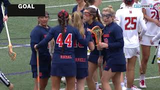 Syracuse Women's Lacrosse at Maryland Highlights