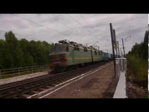 ВЛ80с-290 ст.Юморга онлайн видео