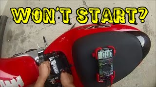 9. How-To   Suzuki SV650 Battery Check, Charge, Replace
