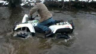 4. 2010 Arctic Cat Mud Pro 1000