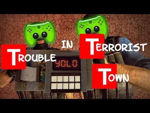 TTT # 102 - Minecraft bei Nacht «» Let's Play Trouble in Terrorist Town Garry's Mod   HD