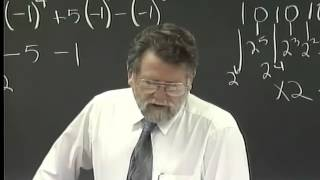 Lecture 17: Beginning Algebra (Math 70)