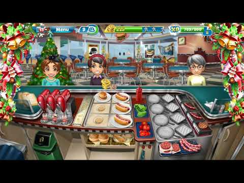 Cooking Fever || Fast Food Court || Level #14 || Games For Kids || 3 ⭐⭐⭐