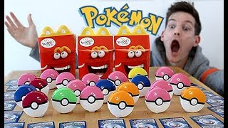 BUYING THE WHOLE *McDonald's 2019 Pokemon Card Menu* by Unlisted Leaf