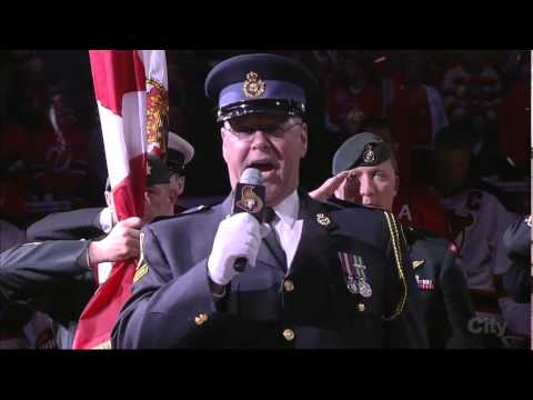 tribute - The Ottawa Senators, Toronto Maple Leafs and Montreal Canadiens present a united tribute to Canadian soldiers Corporal Nathan Cirillo and Warrant Officer Patrice Vincent who died in two separate...