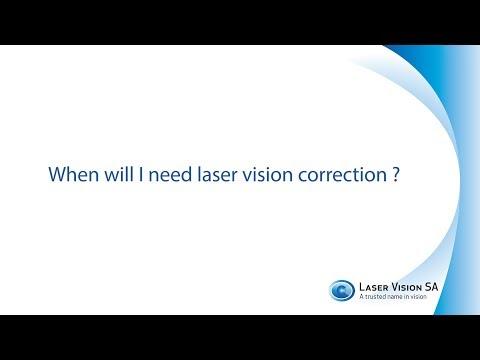 When do I need Laser Vision Correction?